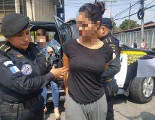 Patricia Satie Kato tendrá que permanecer en Guatemala mientras dura la investigación del MP. (Foto Prensa Libre: PNC)
