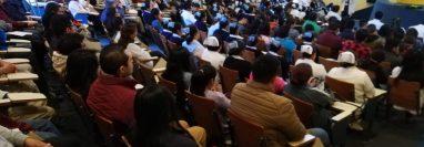 El viernes 28 de febrero el personal del HRO se capacitó sobre el coronavirus y otros temas relacionados. (Foto Prensa Libre: cortesía HRO)