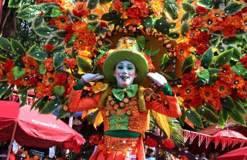 Fotogalería: tradición y colores en el carnaval guatemalteco