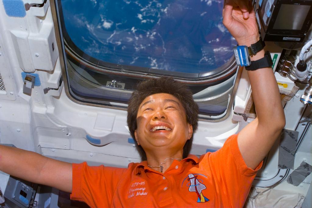 Chiaki Mukai fue la primera mujer astronauta del Japón y de Asia que viajó al espacio. (Foto Prensa Libre: National Aeronautics and Space Administration -NASA-)