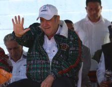 Alejandro Giammattei ha realizado mesas de trabajos con alcaldes de Salcajá, Almolonga, Cantel y Olintepeque. (Foto Prensa Libre: Raúl Juárez)