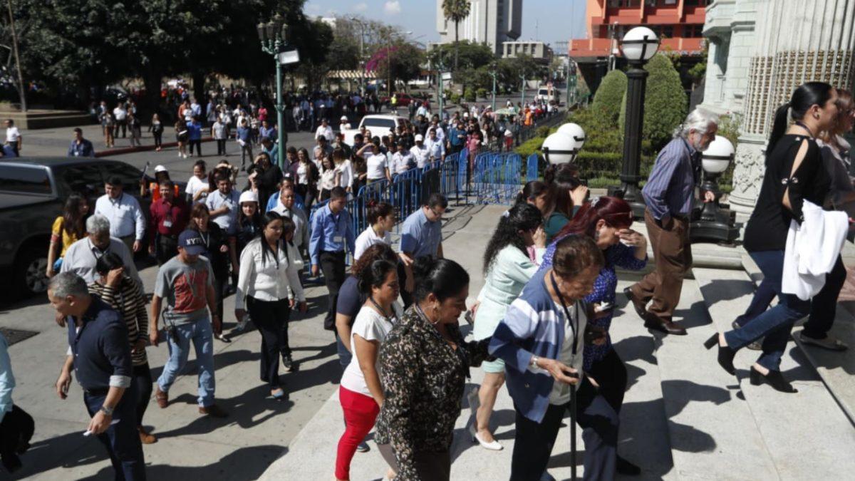 Guatemala conmemora terremoto de 1976 con simulacro masivo