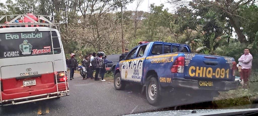 Caravana del Zorro | Cuatro motoristas son arrollados por camioneta agrícola
