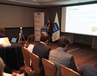 El Cien presentó la ruta para el desarrollo 2020-2024. (Foto Prensa Libre: Juan Diego González)