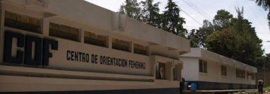 Fachada del Centro de Orientación Femenina de Fraijanes. (Foto Prensa Libre: Sistema Penitenciario).
