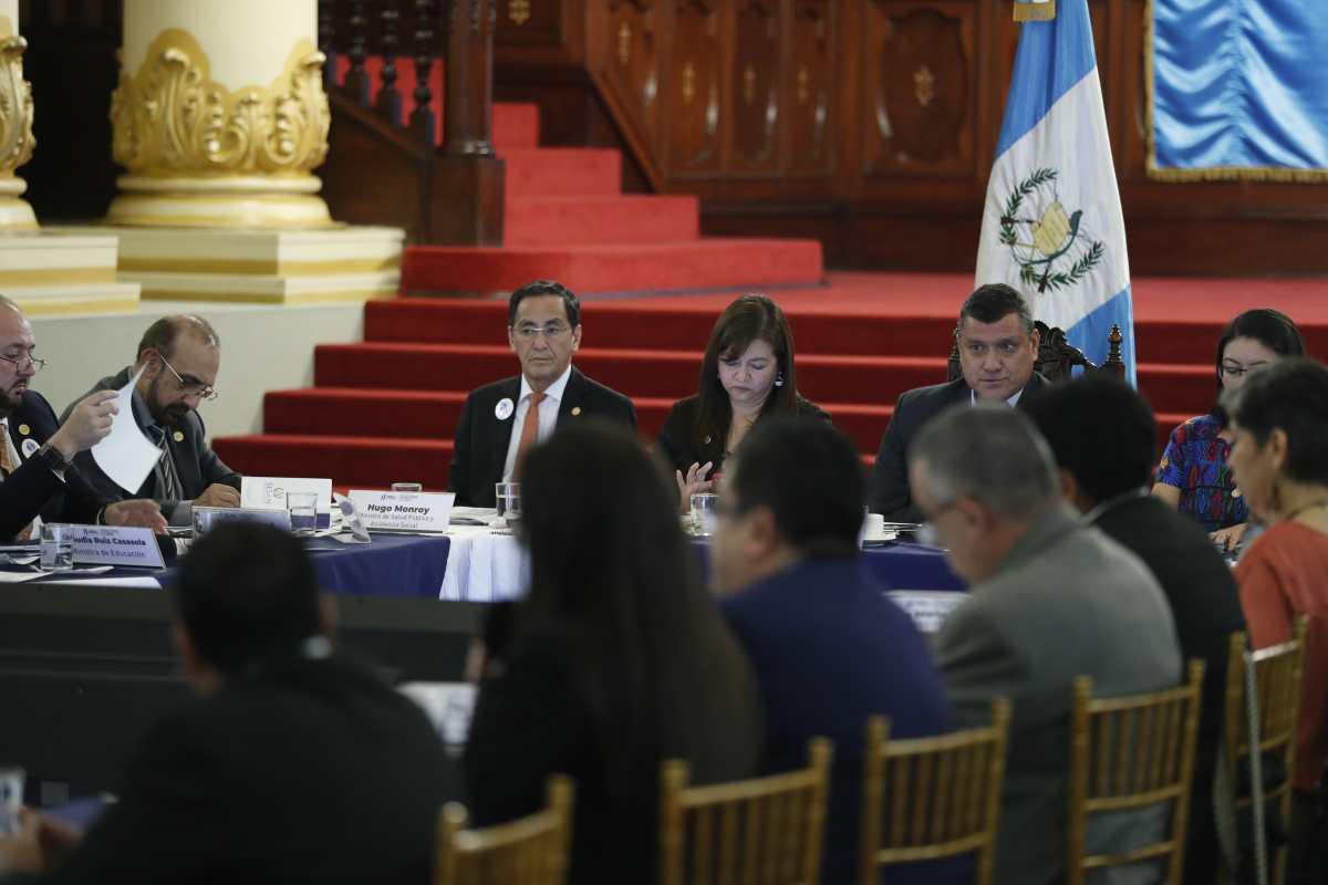 Gobierno crea fondo y mesa técnica para combatir emergencia alimentaria
