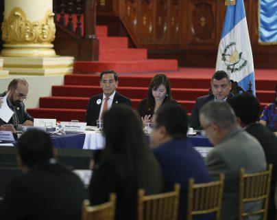 En la primera reunión del Conasán no se concretaron planes para atender la desnutrición aguda. (Foto Prensa Libre: Esbin García)