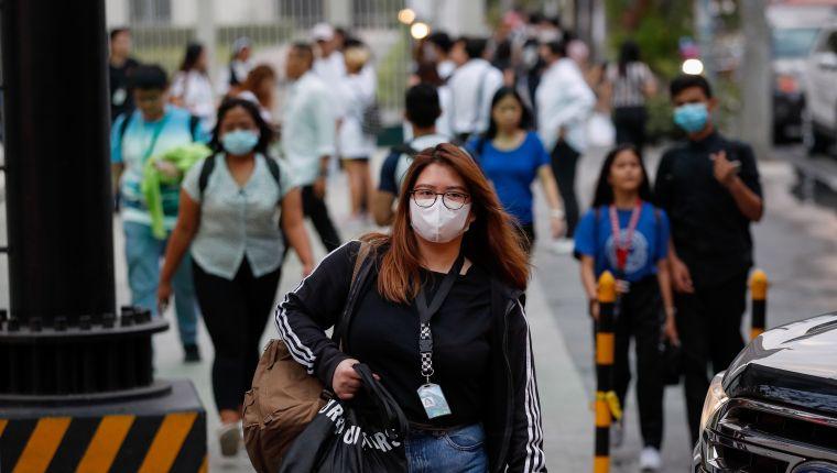 Filipinas registra primera muerte por coronavirus fuera de China según la OMS