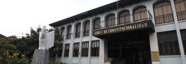 La Corte de Constitucionalidad se encuentra en el ojo del huracán en una lucha de poderes. (Foto Prensa Libre: Hemeroteca PL)