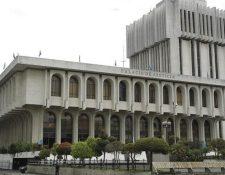 Edificio de la Corte Suprema de Justicia y la Torre de Tribunales. (Foto, Prensa Libre: Hemeroteca PL).