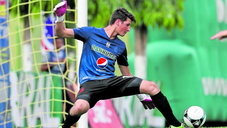 Nicholas Hagen, portero de la Selección de Guatemala