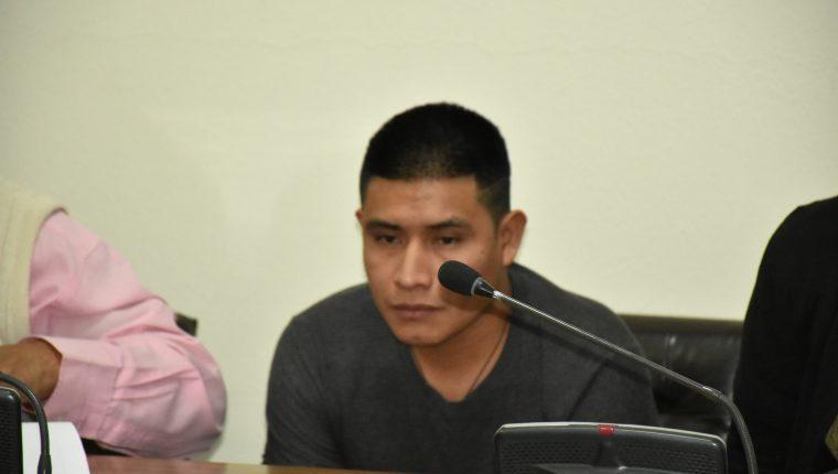 Andrés Castro Hernández fue hallado culpable de parricidio. (Foto Prensa Libre. Héctor Cordero).