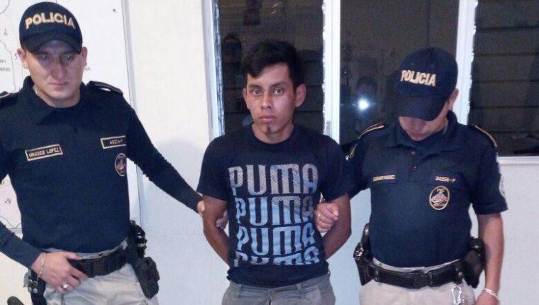 Álvaro Alfredo Escobar Barrios, al momento de ser detenido, en 2018. (Foto: Hemeroteca PL)