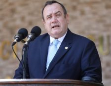 Alejandro Giammattei, presidente de Guatemala. (Foto Prensa Libre: Presidencia)