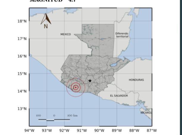 Esto dice el Insivumeh respecto de los temblores de las últimas horas
