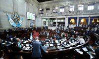 Diputados en la sesión plenaria de este 11 de febrero. (Foto Prensa Libre: Congreso)