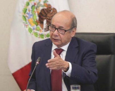 Romeo Ruiz Armento, embajador de México en Guatemala (Foto Prensa Libre. Hemeroteca)
