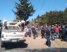 El proceso de regularización de servicios empezó este martes 18 de febrero en Santa María Xalapán, Jalapa. (Foto Prensa Libre: Cortesía)
