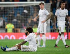 El brasileño Marcelo fue uno de los jugadores más señalados. (Foto Prensa Libre: AFP)