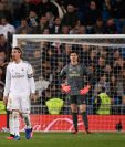 Los jugadores del Real Madrid no pudieron festejar. (Foto Prensa Libre: AFP)