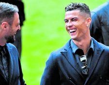 Cristiano Ronaldo ha declarado en diferentes ocasiones que es feliz en la Juventus. (Foto Prensa Libre: Hemeroteca PL)