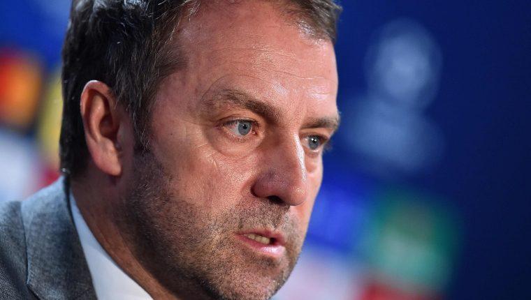 Dieter Flick, entrenador del Bayern Múnich. (Foto Prensa Libre: AFP)