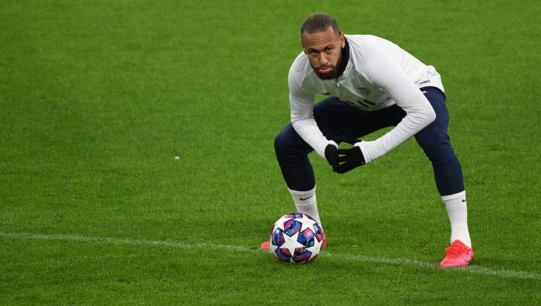 Neymar, jugador del París Saint-Germain. (Foto Prensa Libre: APF)