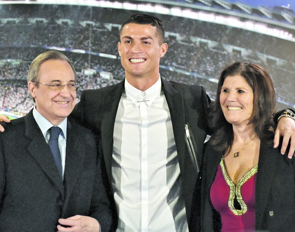 "Florentino Pérez a Cristiano Ronaldo: ""Felicidades al mejor jugador del mundo"""