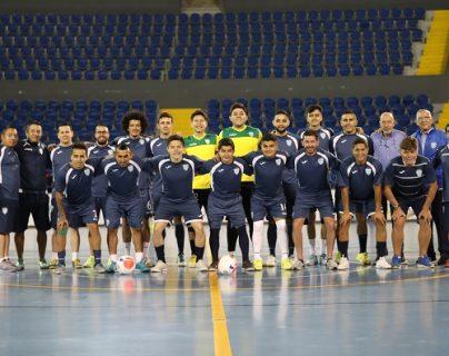 La Selección de Futsal conoció a sus rivales camino a la Copa del Mundo. (Foto Prensa Libre: Fedefut)