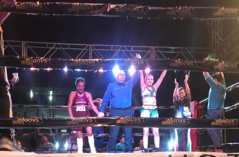María Micheo sigue imparable en el boxeo profesional