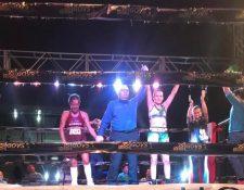 La guatemalteca, Micheo, sigue su paso ascendente en el Boxeo Profesional. (Foto Prensa Libre: Cortesía)