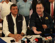 El presidente Alejandro Giammattei y su gabinete tomarán decisiones desde Quetzaltenango. (Foto Prensa Libre: María Longo)
