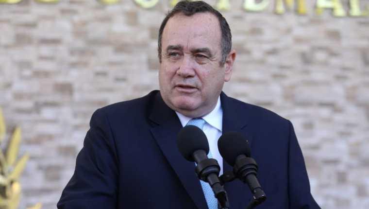 Alejandro Giammattei tratará temas económicos durante su visita a México. (Foto Prensa Libre: Gobierno de Guatemala)