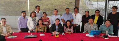 Colectivo Ciudadano cuestiona la selección de candidatos a gobernador de Quetzaltenango que llevó a cabo sociedad civil. (Foto Prensa Libre: María José Longo)
