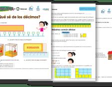 Coleccione las hojas de trabajo de Guatemática y utilícelas en el aula o en el hogar.