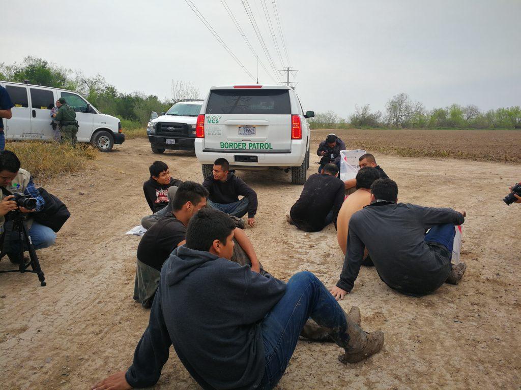 detenidos frontera sur estados unidos