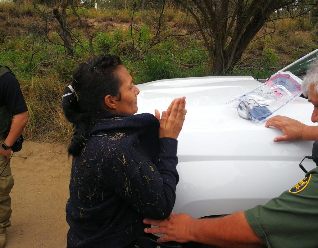 Detenidos en frontera sur