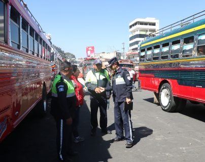 Autoridades sin datos exactos de los buses extraurbanos que ingresan a Quetzaltenango