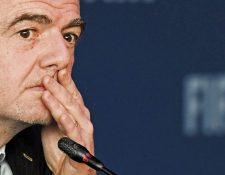 Gianni Infantino, presidente de Fifa. (Foto Prensa Libre: Hemeroteca PL)