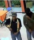 Dos hombres tomaron por asalto un restaurante en Morales, Izabal, y ahora son buscados por la Policía. (Foto Prensa Libre:)