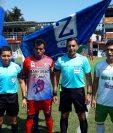 Iztapa y Siquinalá se reparten puntos en el Estadio del Morón. (Foto Prensa Libre: Cortesía @andresNadf)