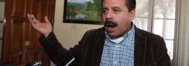 Juan Fernando López Fuentes, alcalde de Quetzaltenango. (Foto Prensa Libre: Mynor Toc)