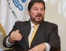 Luis Cardenal, presidente de Anep, aseguró a Prensa Libre que en El Salvador se está generando una incertidumbre y llamó a la calma en espera que se pueda resolver la crisis política por la vía del diálogo. (Foto Prensa Libre: Hemeroteca)