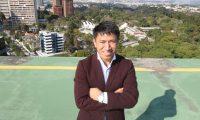 Entrevista a Marcos Antil, Qanjobal, fundador en EE.UU de Xumak, compania informatica que trabaja en 25 paises.   Fotografia Esbin Garcia  23/12/2014
