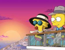 Maggie Simpson será la protagonista del nuevo cortometraje de Pixar y Disney. (Foto Prensa Libre: The Simpsons)