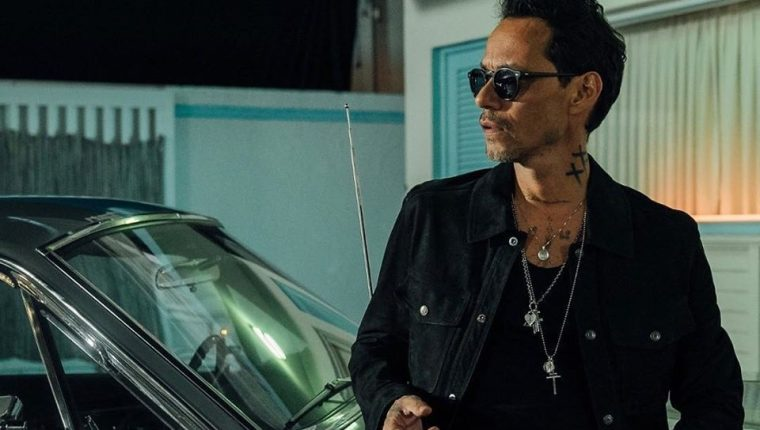 "Marc Anthony se encuentra de gira por su álbum ""Opus"". (Foto Prensa Libre: Facebook @officialmarcanthony)."