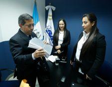 Marco Livio Díaz Reyes fue elegido nuevo superintendente de la SAT para un período de cinco años y ocupará el cargo en medio de una crisis sanitaria en Guatemala. (Foto Prensa Libre: Hemeroteca)