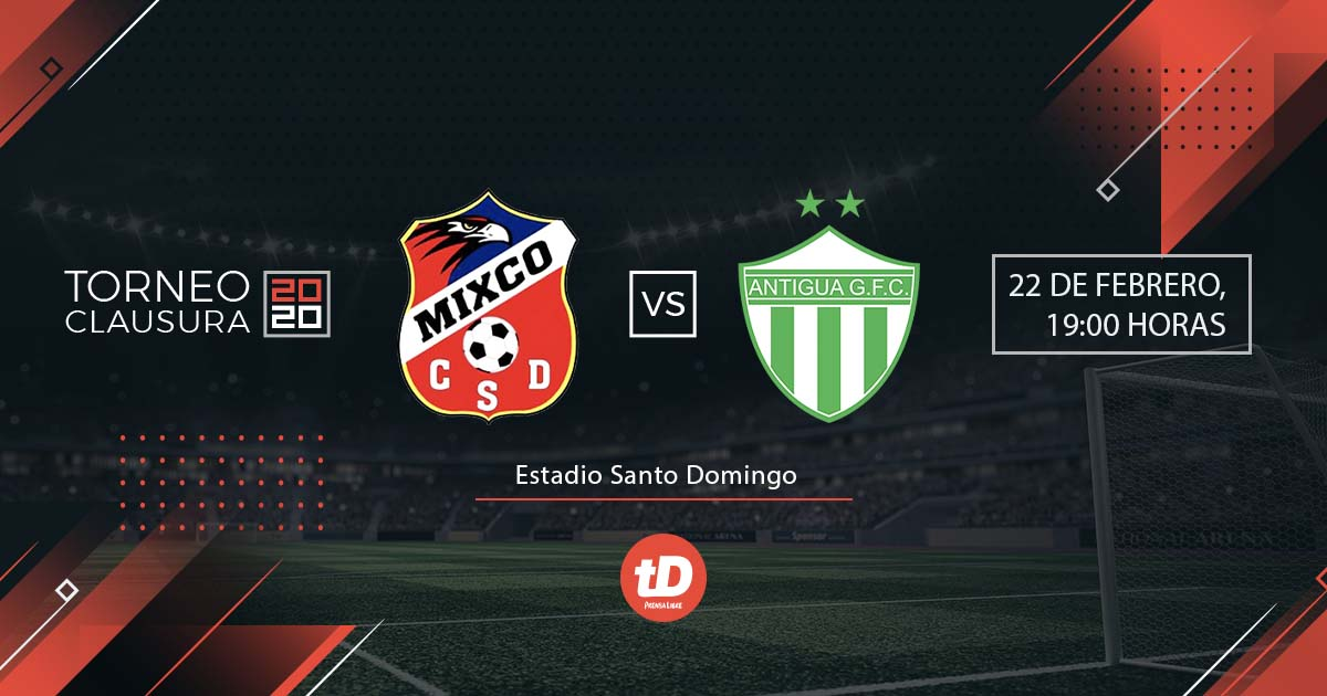 EN DIRECTO | Mixco vs Antigua GFC