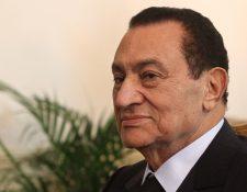 El expresidente egipcio Hosni Mubarak, murió a los 91 años. (Foto Prensa Libre: AFP)