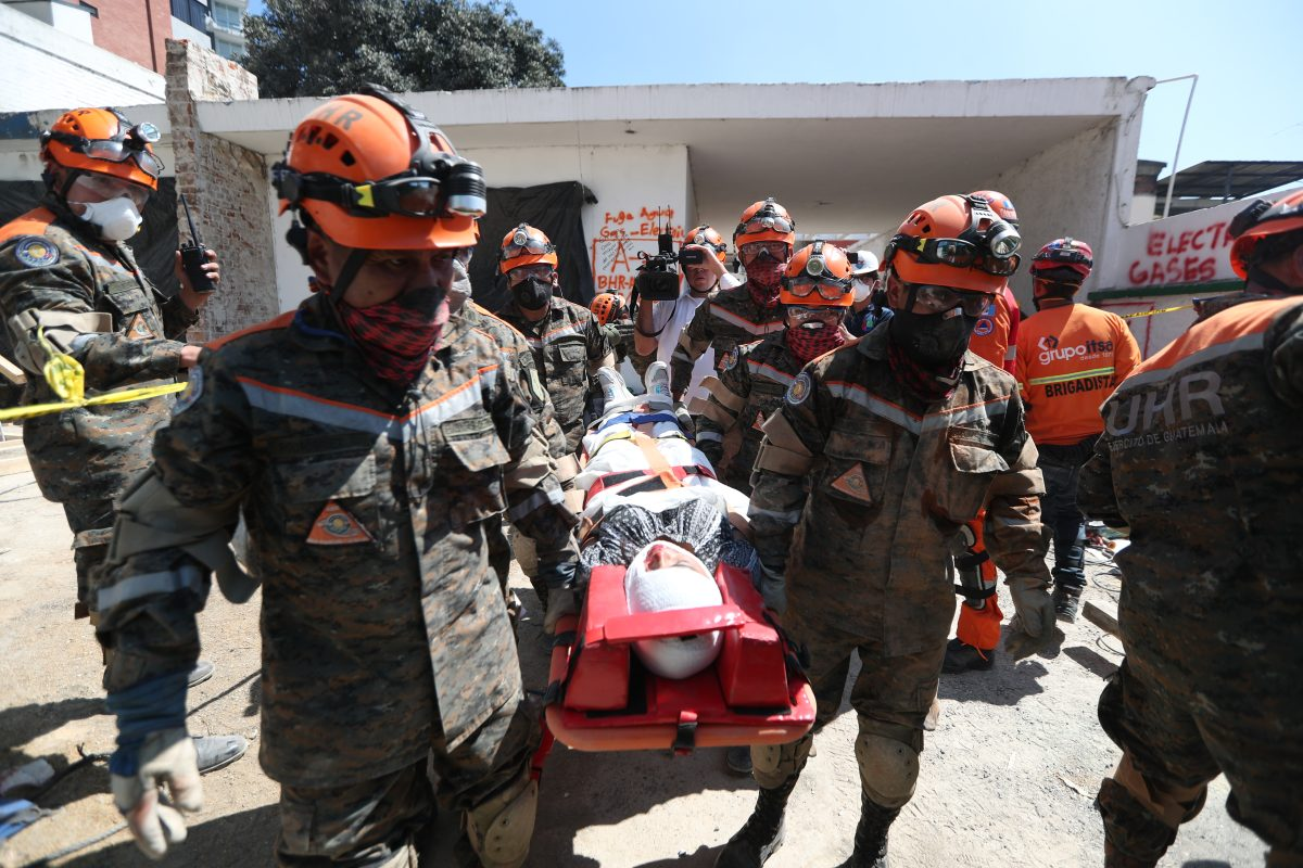 Fotogalería: simulacro de terremoto Guatemala hoy 4 de febrero de 2020